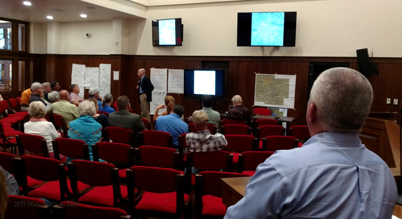 Lockwood answered many inquiries during Thursday's meeting regarding the future of the City.