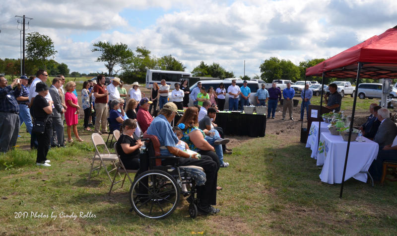 A large crowd welcomed the Delta Oasis Inc. solar farm to Delta County.