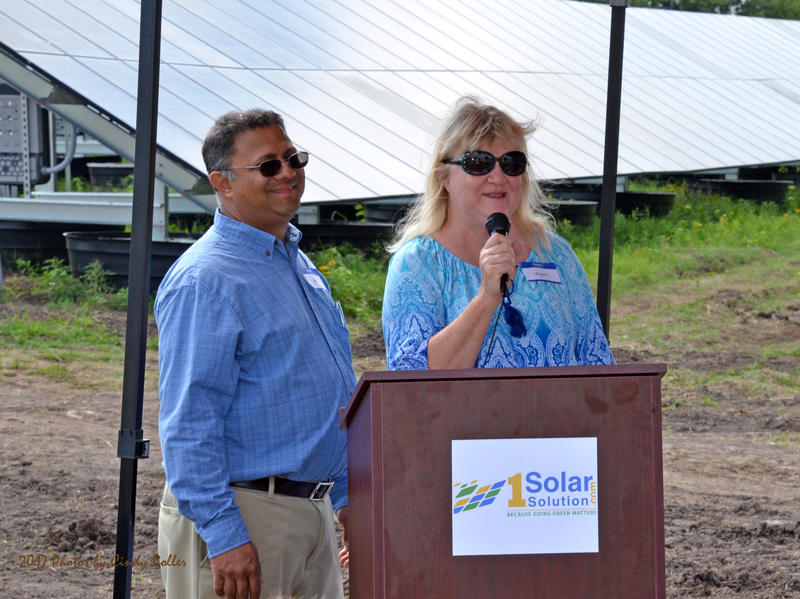 Yogi and Suzanne Patel are the landowners for Delta Oasis Inc. solar farm.
