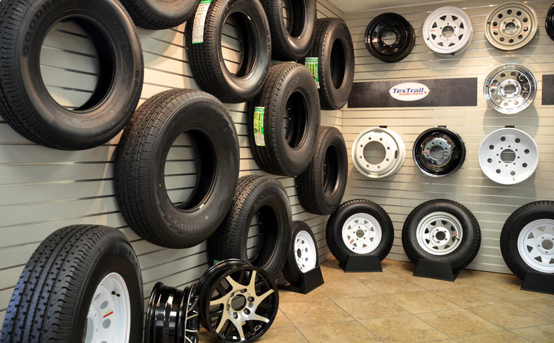 TexTrail offers a wide variety of trailer tires for sale.