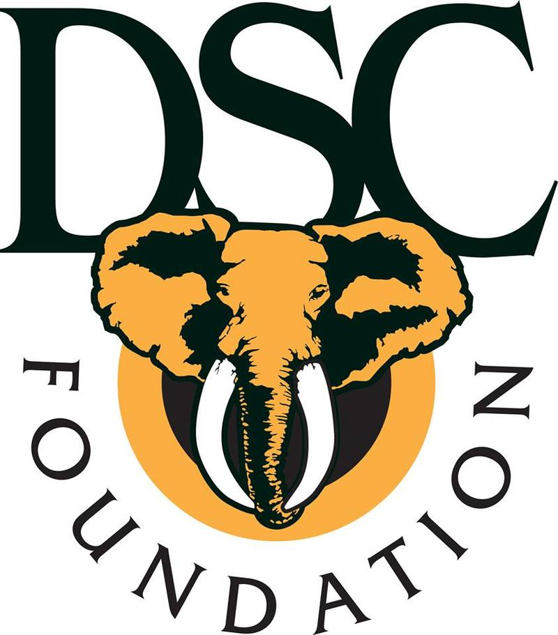 Luke speaks with the president of the Dallas Safari Club Foundation