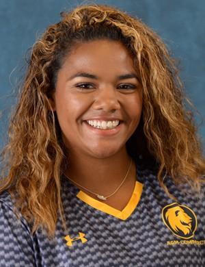 Senior soccer player Raven Porter.