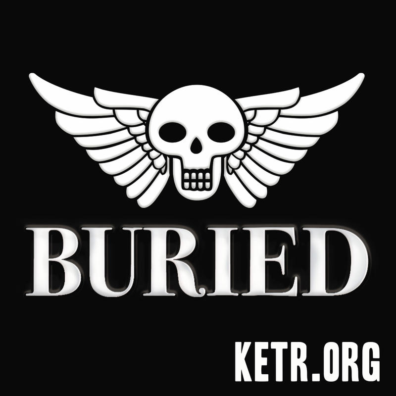 Buried logo