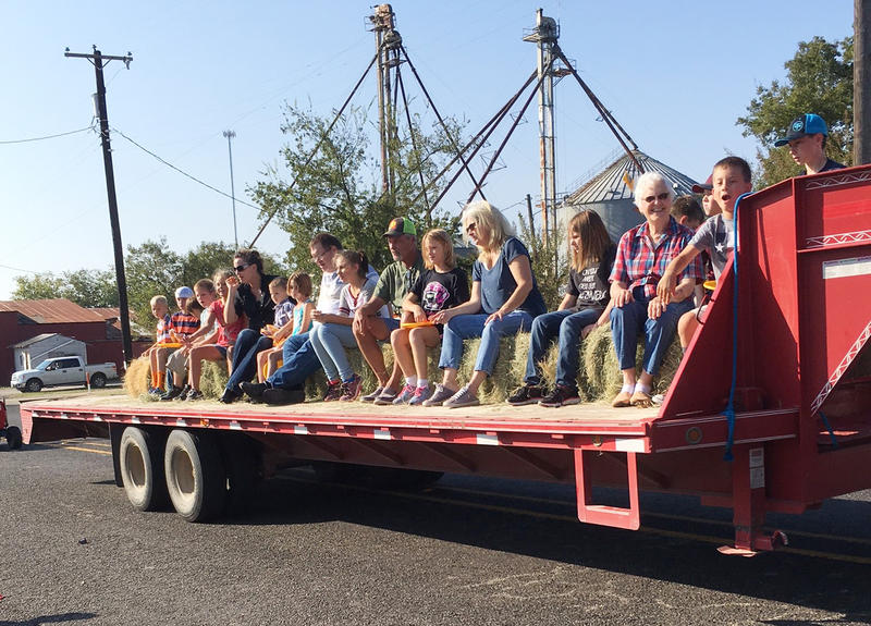Folks enjoyed the annual parade at 2017 Pecan Fest in Pecan Gap, Texas.
