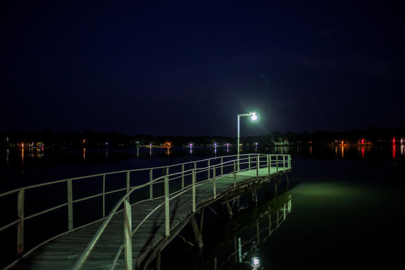 The view across Duck Cove in Lake Tawakoni's Waco Bay.