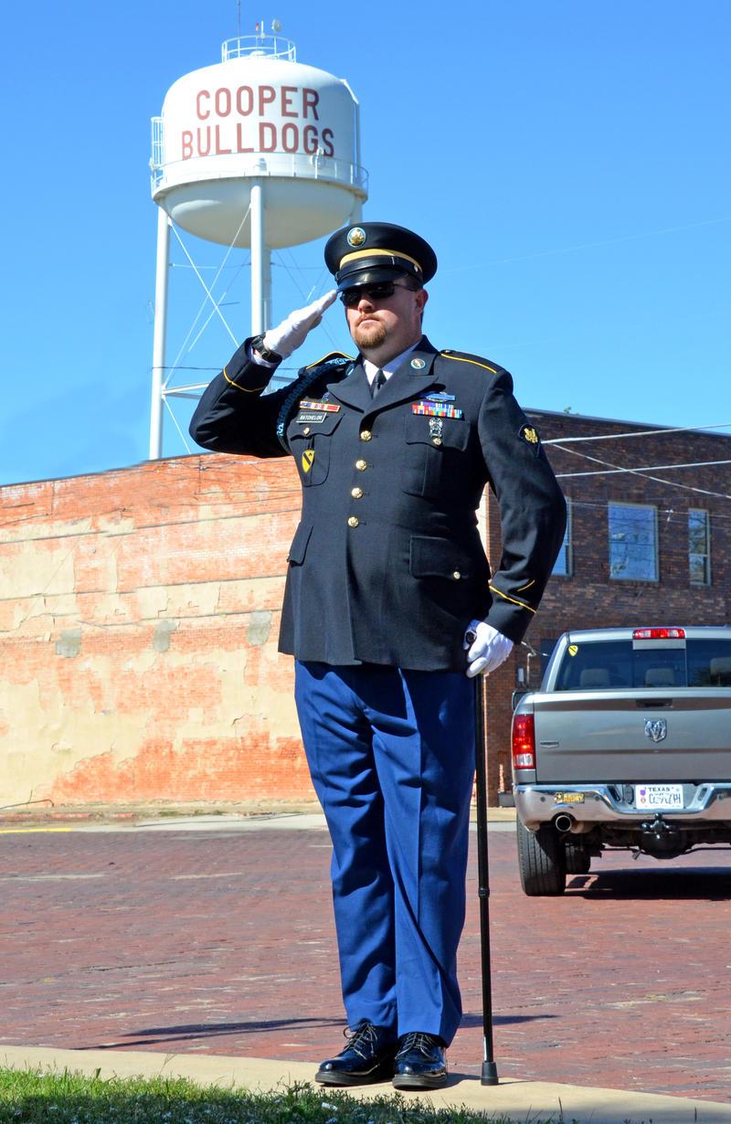 Retired Veteran Jim Batchelor is raising awareness for The 22 Standing Campaign.