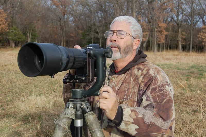 George Barnett, noted wildlife photographer is Luke's guest this week.