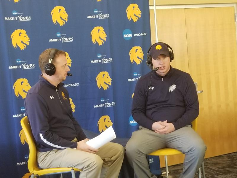 Josh Manck discusses the Lions men's basketball team's undefeated start with head coach Jaret von Rosenberg.