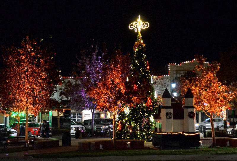 Downtown is a must-see with special light displays set to music.