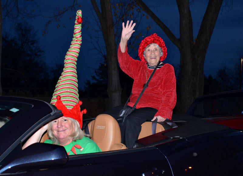 Delta County Chamber office manager Gracie Young was the 2017 Parade Grand Marshal. She was escorted by
