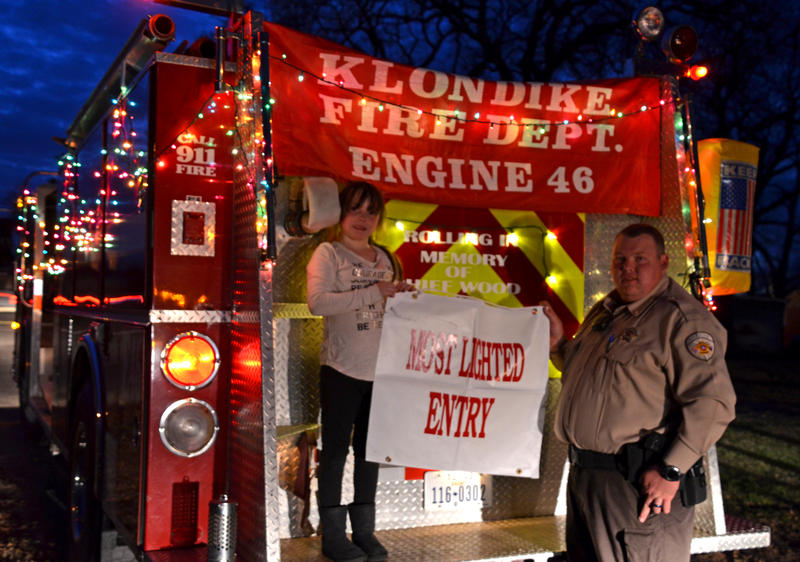 Most Lighted: Klondike Fire Department as they were