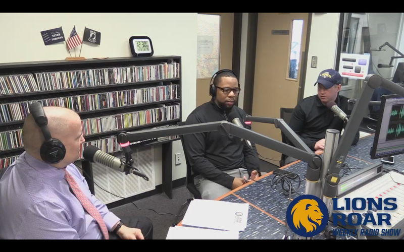 Tim McMurray talks with both head basketball coaches about the Lions successes halfway through conference play.