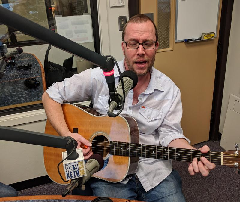 Listeners were treated to a live performance of  Terry Klein's