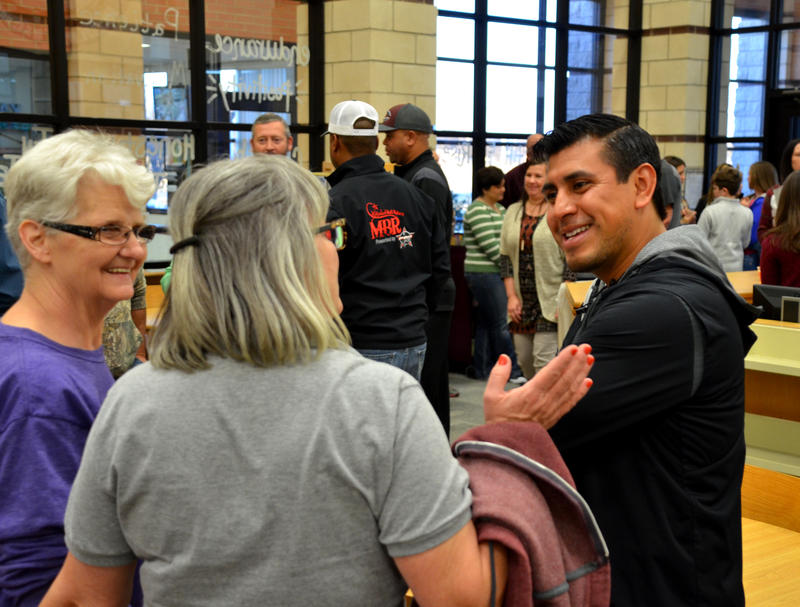 New AD/Head Bulldog Football Coach Rod Castorena was recently welcomed by staff, students, and community.