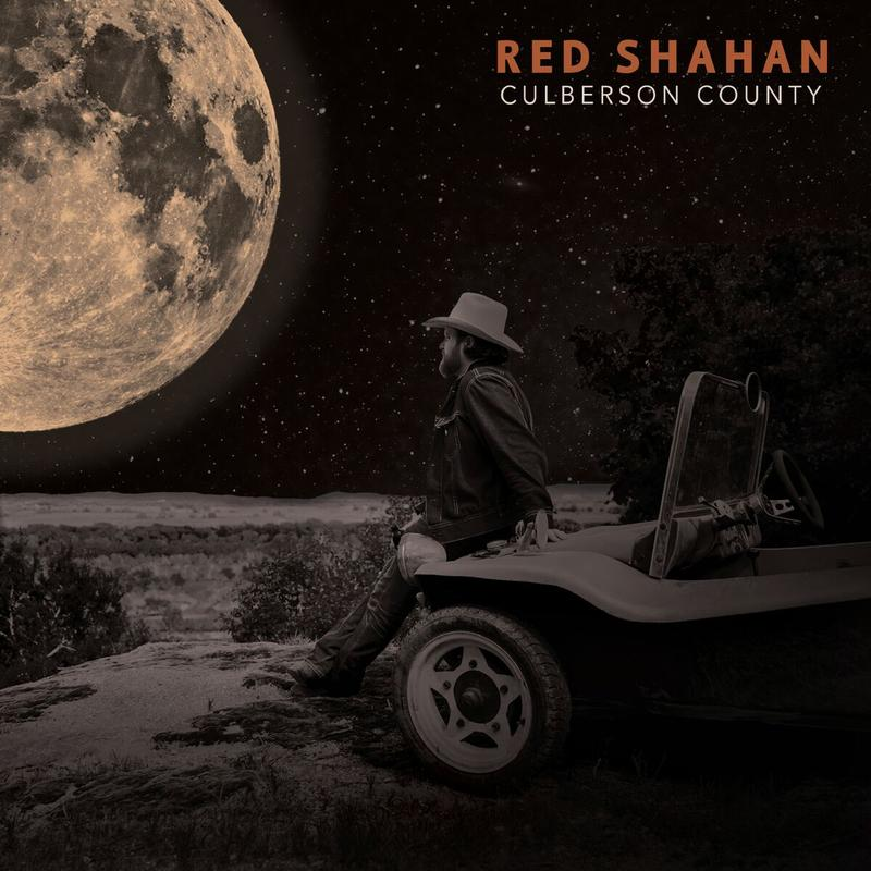 Cover Art for Red Shahan's record Culberson County