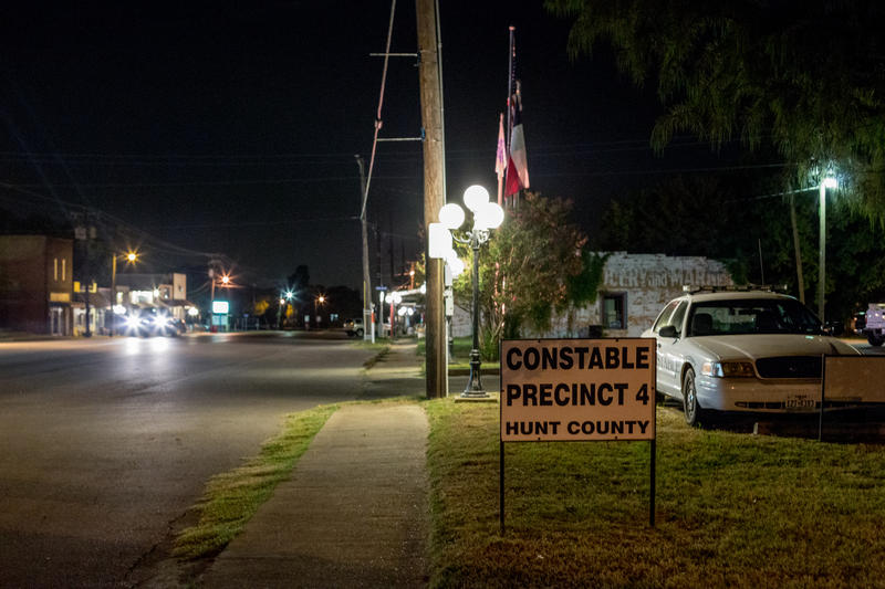 The Constable's Office on Quinlan's Main Street.