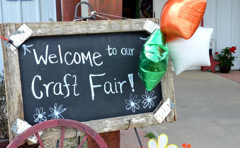 Pecan Gap Ladies Club hosted their first craft fair.