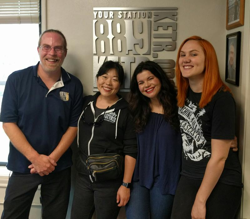 (Left to right) Matt Meinke, BettySoo, Rebecca Loebe and Grace Pettis.