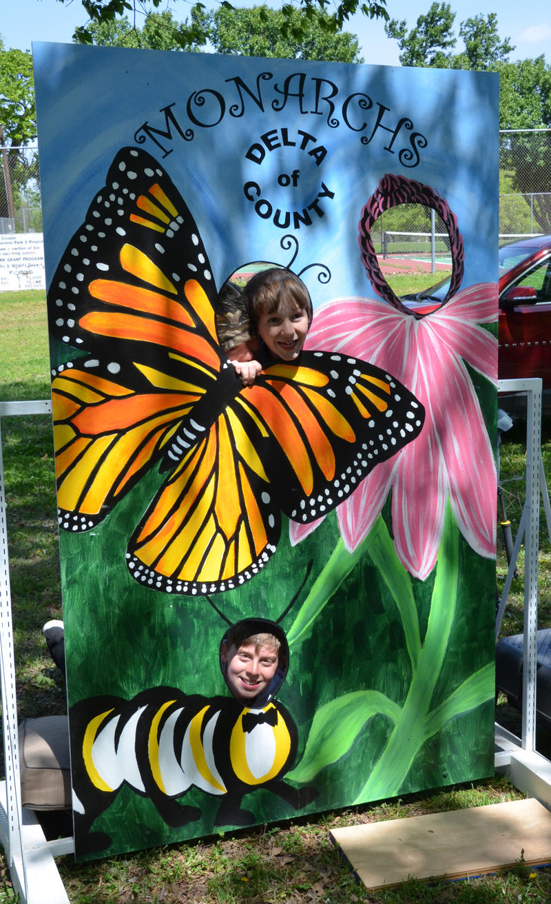 Monarchs of Delta County had a fun display at the Fair last Saturday.