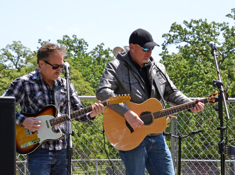 Monty Tipps band performed over the lunch hour at the Delta County Fair.