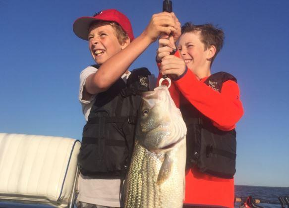 Junior Angler Lake Tawakoni Record: Noah Brown (caught with Striperaholic Guide Service)