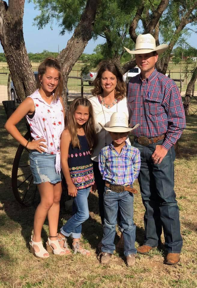 Judge Jason Murray, his wife Heather, and their family were featured in a recent promotion for National Day of the Cowboy.