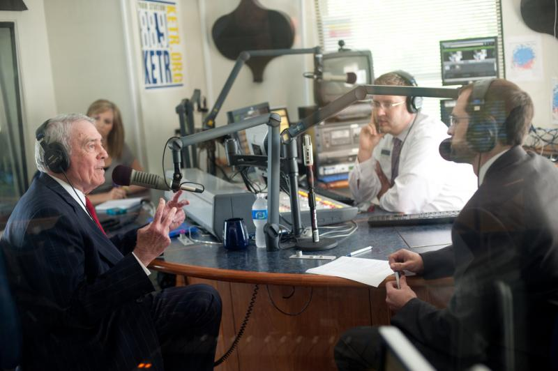 Dan Rather sits down with Scott Harvey, Jerrod Knight, and Savannah Christian of The East Texan in KETR's studios.