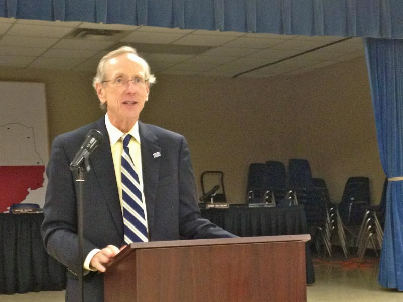 Dr. Dan Jones, keynote address at the 2012 Rotary Scholar luncheon.