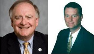 From L to R; Rep. Dan Flynn and George Alexander