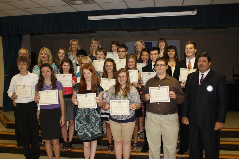 Rotary Scholar Group Picture, May 9, 2012