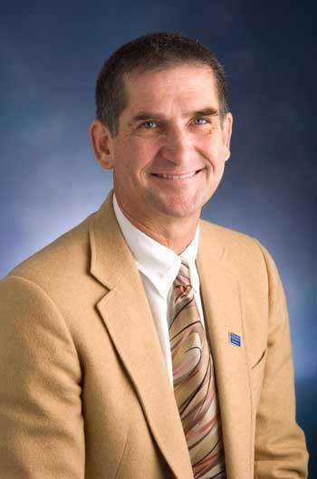 Dr. Brent Mangus, who is resigning his post as Dean of the College of Education and Human Services at A&M-Commerce.