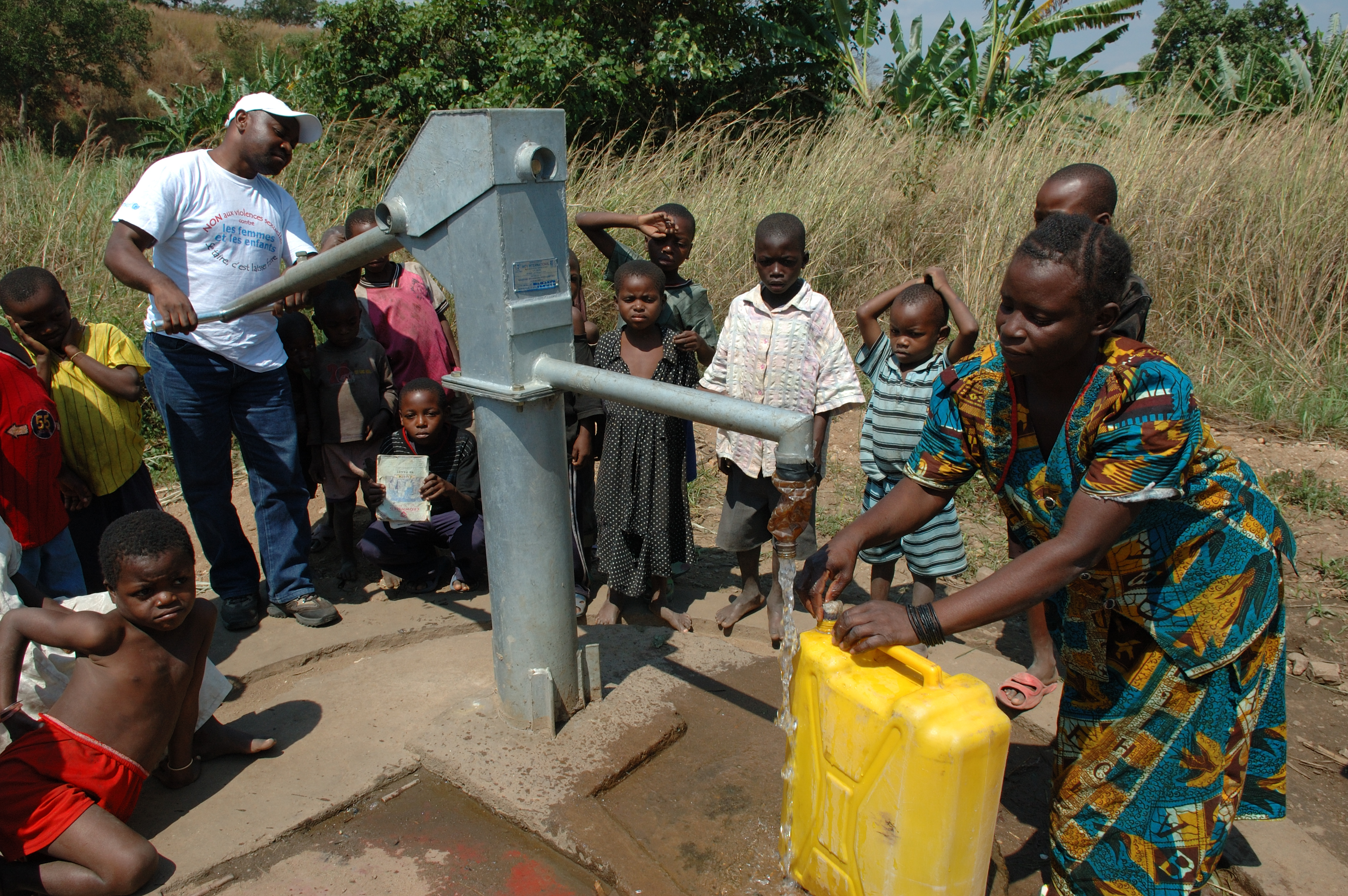 Amount Of Water In Africa Not The Problem, But Delivery To People