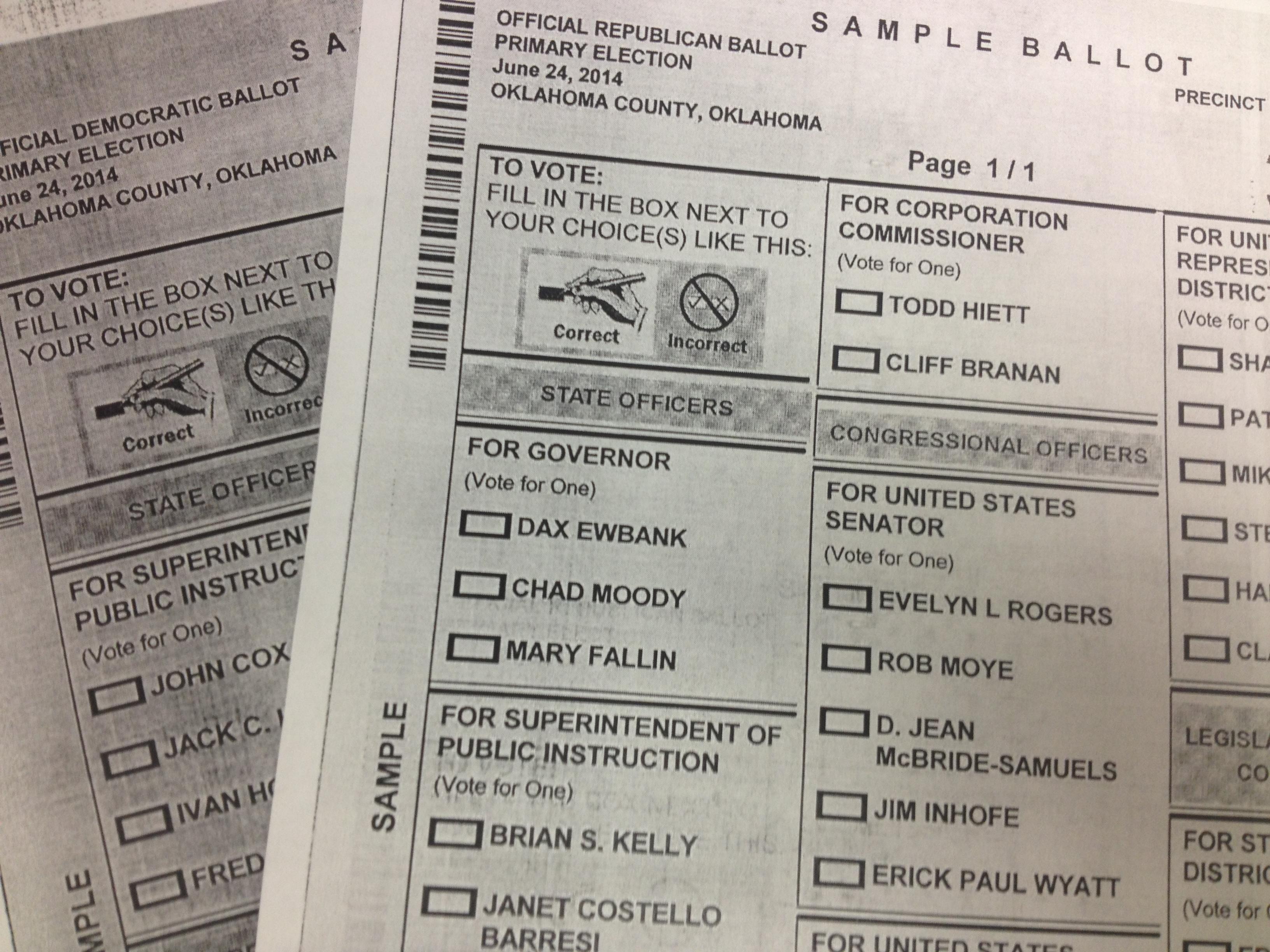 Oklahoma Election Board Unveils Online Voter Tool | KGOU