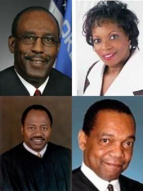 Clockwise from top right: Vicki Miles-LaGrange, Carlos Chappelle, David Lewis, Tom Colbert