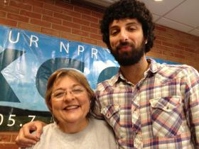 General Manager Karen Holp and Arash Davari.