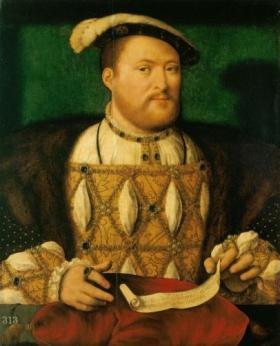 Henry VIII (1491-1547), Oil on panel, c. 1530-35