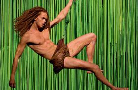 Tarzan swoops into the Civic Center Music Hall this week.