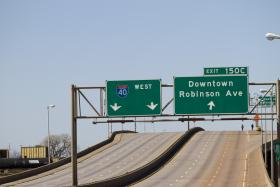 A new exit opens Friday afternoon providing better access to and from downtown Oklahoma CIty.