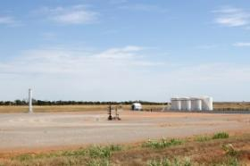 A disposal well in Western Oklahoma.