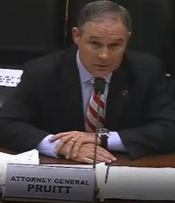 Okla. Attorney General Scott Pruitt
