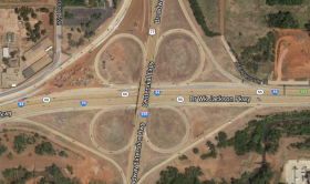 Construction in the I-44, I-235 interchange will lead to lane and ramp closures through August.