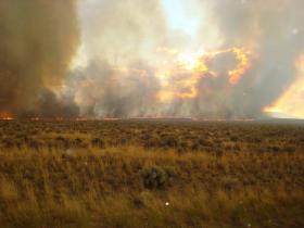 Fire In Oregon