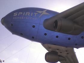Inflatable Spirit AeroSystems Airplane