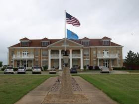The Ardmore Veterans Center, one of seven long-term care facilities for wartime veterans. Each center will be opened to peace-time veterans beginning Nov. 1.