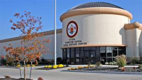 The Citizen Potawatomi Nation cultural heritage center.