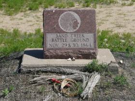 Sand Creek Battle Ground Monument