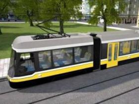 Streetcar rendering as part of a presentation of proposed routes for the MAPS 3 project.