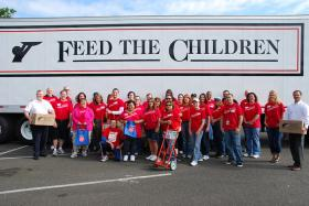 Volunteers for Feed The Children