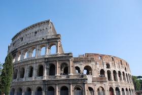 The Roman Colosseum - September 26, 2009.