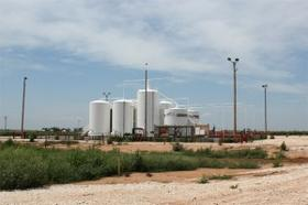 A disposal well in Northern Oklahoma.